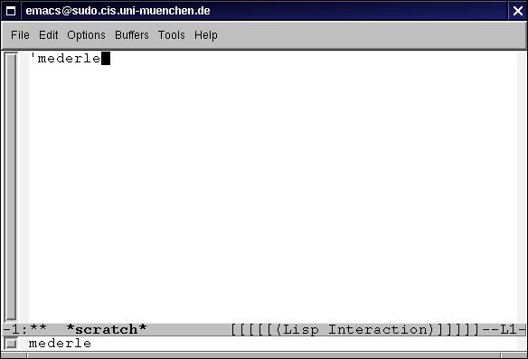 Einführung in Emacs Lisp